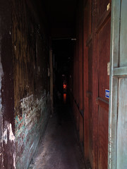 Bangkok - shrine along Sukhumvit 22 (ashabot) Tags: bangkok thailand darklight lightandshadow alter shrine seasia hope sukhumvit streetscenes