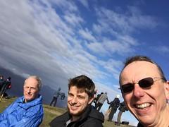 Thom, Matt and I made it (barronr) Tags: scotland lochlomondthetrossachsnationalpark benlomond theptarmigan
