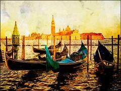 Venecia, Venice San Giorgio 003 (www.ignaciolinares.com) Tags: venecia venice venezia gondola canales sanmarcos feniche campanile ilduomo eldoge vaporetto veneto italia