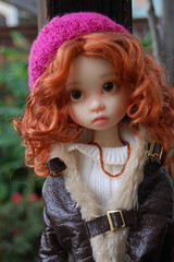 After the Rain (Emily1957) Tags: gracie kayewiggs bjd resin light naturallight nikond40 nikon kitlens dolls doll toys toy portrait