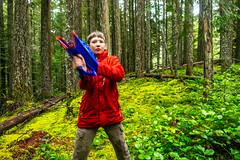 DSCF4393 (LEo Spizzirri) Tags: bevin morgan peter odin huck huckleberry shug cabin northwest seattle forest pacific mushroom moss josh betsy ladder green thick