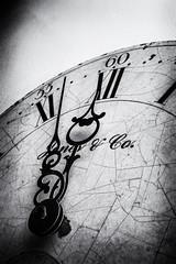 Three Minutes to Midnight (timh255) Tags: 1855mm 3minutestomidnight 52weeks clock d5200 doomsday doomsdayclock flash lightroom nik nikon sb700 silverefexpro2 timhutchinson tripod blackandwhite monochrome