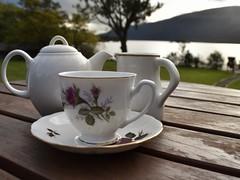 Rowardennan on Loch Lomond (Anne Young2014) Tags: rowardennanyouthhostel teatime scotland rowardennan lochlomond
