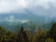 The Hidden Mountain (R_Ivanova) Tags: nature landscape mountain mist sky clouds cloud fall autumn colors color hill sony rivanova bulgaria