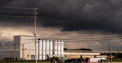 SPC (RubyT (I come here for cameraderie)) Tags: canong5x silos stormclouds
