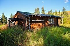 Old Farm Cabin (MIKOFOX  Show Your EXIF!) Tags: canada fujifilmxt1 yukon fall spruce buildings hills farm september xt1 showyourexif mikofox nordenskioldrivervalley xf18135mmf3556rlmoiswr