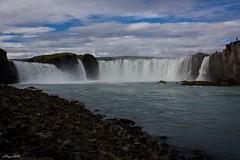 Goafoss, Waterfall of the Gods, Iceland (Algol69) Tags: iceland travel fall foss water waterfall islanda