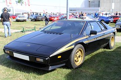 Lotus Esprit JPS Edition 1979 (seb !!!) Tags: lotus esprit jps edition 1979 world champion 2016 auto automobile automovel automovil automobil coup berlinette canon 1100d cars anciennes ancienne old oldtimers moto rtro rouen show seb france salon franais voiture wagen car grande bretagne anglais anglaise english british britain england noir nero negro schwartz black preto bande strip streifen tira striscia or gold oro ouro classique classic klassic