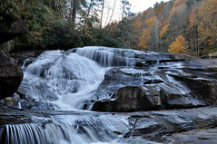 Lower Falls, Triple Falls.  Dupont State Forest (Rusty4344) Tags: waterfalls water waterfall nikond90 nikon northcarolina outdoors outdoor trees autumn color