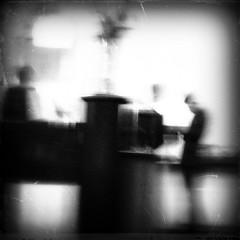 n mr (Vesa Reijonen) Tags: people bar blur bw