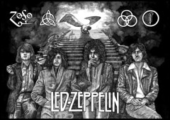 Led Zeppelin (just an art person) Tags: ledzeppelin drawing art design illustration blackwhite ink blackink indianink fineliner pen pendrawing inkdrawing inkart music