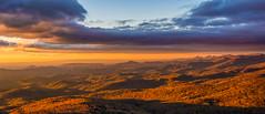 Morning At Rough Ridge (APGougePhotography) Tags: sun sunrise blueridgeparkway blueridge blue ridge boone north northcarolina carolina mountains grandfather nikon nikond800 nik nikcollection colorefexpro golden fall d800