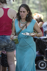 Dinner (yowser85) Tags: festivals woman braless music