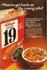 Product 19 ad, 1970 (STUDIOZ7) Tags: kelloggs product19 cereal 1970s seventies 70s ad advertisement box package breakfast