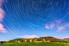Castlerigg stone circle star trail (Kevin Sloan @ KSSImages) Tags: uk nightsky astronomy landscape castleriggstonecircle lakedistrict startrail