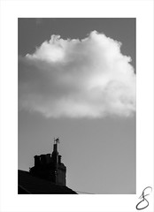 wishful thinking (Howard Sandford) Tags: roof chimney rooftop sky cloud