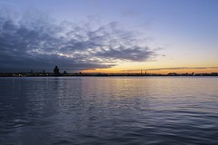 Another sunset over the Mersey (lady.bracknell) Tags: sunset liverpool mersey river birkenhead overthewater pierhead