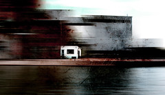 Swansong of Nemesis 1 (MvMiddendorf) Tags: fineart industry belgium river artjournal usa architecture overlay texture brush mixed