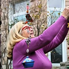DSC_3229 (Bill A) Tags: baltimore street people children grandparents tree ornaments