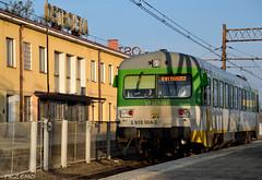 VT 627-101 at Ostrołęka Station (goprzemo) Tags: vt627 ostrołęka stacja station