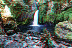 Wahclella Falls (jose paulo akan) Tags: bonneville canyon creek dam falls flowing forest gorge hdr landcape mist moss northwest oregon outdoors plants rocks summer torrent trees wahclella water