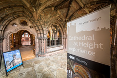 Chester Cathedral (13th Aug 2015) (Mark Carline) Tags: cheshire cathedral chester chestercathedral cathedralatheight