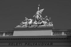 A kzlekeds allegrija / The allegory of transport (bencze82) Tags: budapest transport allegory 90mm voigtlnder keleti the f35 a plyaudvar apolanthar kzlekeds slii allegrija