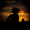 Evening Ritual (William Gruner Photography) Tags: sunset portrait sky newmexico silhouette clouds canon eos downtown albuquerque abq 5d nm markii hotelparqcentral