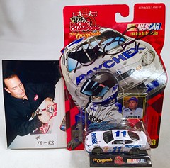 #18-43, Brett Bodine, Signing, Racing Champions, 1999, Paychex, #11, Winston Cup, (Picture Proof Autographs) Tags: auto classic cars scale car sign real toy toys photo model automobile image display models picture images collection vehicles photographs photograph collections nascar displays 164 vehicle driver proof session autoracing autos collectible collectors signing automobiles collectibles authentic sessions collector drivers genuine diecast winstoncup carded buschseries inperson 164th photoproof authenticated blisterpacks pictureproof