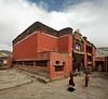 Tsarang monastery (Sophie et Fred) Tags: nepal trek kingdom monk lo monastery tibetan mustang himalaya monastère 2015 moine boudhism boudhisme royaume tibétain tsarang