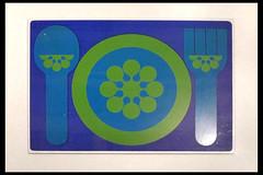 placemat b 01 1974 baques j (museo del disseny barcelona 2015) (Klaas5) Tags: museum graphicdesign spain espana placemat catalunya designmuseum spanje industrialdesign catalonie vormgeving dissenyhub onderlegger museodeldissenybarcelona