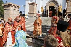090. Patron Saints Day at the Cathedral of Svyatogorsk / Престольный праздник в соборе Святогорска