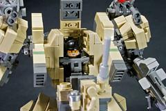 AG-18 Fiend (legoricola) Tags: toy robot lego scifi mech robotech