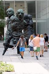 Thomas Schtte,. United Enemies at MoMA (mattk1979) Tags: city sculpture usa newyork manhattan unitedstatesofamerica moma museumofmodernart thomasschtte unitedenemies