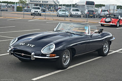 Jaguar E-Type Series 1 Roadster (CA Photography2012) Tags: ca car club photography 1 convertible automotive exotic silverstone e type series british jaguar annual s1 meet bentley spotting drivers sportscar roadster etype 2015 100xye