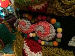 2015-10-06 21.09.05 (The Crochet Crowd) Tags: party crochet mikey exhibit yarn nutcracker artistry freeform caron simplysoft creativfestival yarnbomb crochetcrowd crochetnutcracker crochetstatue