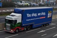 Stobart H2017 PO64 VMH Lucy Abigail A1 Washington Services 27/10/15 (CraigPatrick24) Tags: road truck washington cab transport tesco lorry delivery vehicle a1 trailer doubledecker scania logistics stobart eddiestobart stobartgroup lucyabigail scaniar450 washingtonservices tescodoubledecker a1washington a1washingtonservices h2017 po64vmh