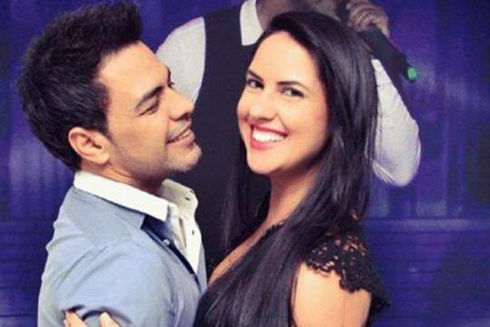 Zezé Di Camargo posta foto ao lado de Graciele Lacerda após boatos de crise na relação