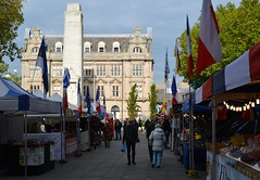 Continental Market in Preston (Tony Worrall Foto) Tags: county city uk england buildings fun outdoors stream tour open place northwest market unitedkingdom centre country north stall visit things location lancashire area buy preston sell northern update stalls attraction lancs continentalmarket flagmarket welovethenorth 2015tonyworrall
