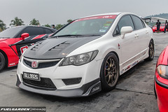Honda Civic Type-R (FD2R) (fuelgarden) Tags: honda malaysia civic jdm typer carphotography hondacivic vtec carculture automotivephotography fd2 zerotohundred timeattack sepangf1circuit fd2r timetoattack
