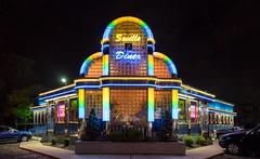 Seville Diner - East Brunswick, NJ (Dalliance with Light (Andy Farmer)) Tags: food architecture night lights restaurant us newjersey unitedstates nj diner brunswick seville east jersey americana eastbrunswick sevillediner