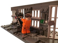 Imprisonment (Dyroth) Tags: lego fluffy prison minifig custom imprisonment minifigure blackops legoprison customlego brickarms legoweapons legomilitary legobrickarms minifigcat legoblackops