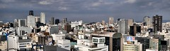 skyline, Osaka (jtabn99) Tags: roof sky building skyscraper downtown osaka umeda daimaru  20151029