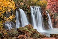 Havasu Falls 22336 (Michael-Wilson) Tags: autumn arizona fall waterfall long exposure village indian grandcanyon grand az canyon hilltop reservation supai havasupai mooneyfalls michaelwilson havasufalls navajofalls havasucreek littlenavajofalls