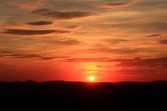Sunset (Joseph W Ling) Tags: sunset red cloud bearmountain