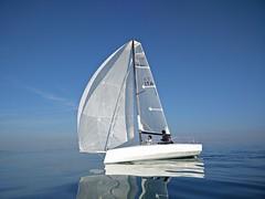 Ma Yo 637 - Wooden sailing boat (h2bob) Tags: wood party boat sailing homemade mayo woodenboat plywood varo woodboat homemadeboat woodensailingboat mayo637