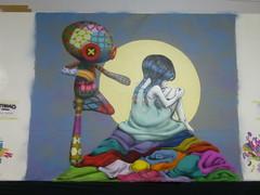 Tinho (Brésil / Japon) (05-12-2015) (Archi & Philou) Tags: girl exhibition exposition drouot tinho digard