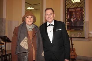 Luisiana Ferrante πρόεδρος Comites Grecia και Costantino Salis