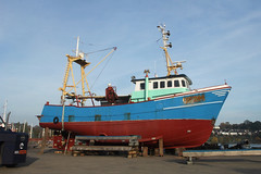 the one from Urk (likrwy) Tags: boat fishing vessel maritime southampton uk244
