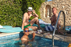 Villa Aix - Couteron (France) (Meteorry) Tags: summer man france guy pool sunglasses june fun duck europe sam wine aixenprovence paca tapas vin snacks provence poolside t jacques homme piscine ros 2015 bouchesdurhne gte holidayhome stewartleiwakabessy meteorry provencealpesctedazur couteron provencealpesctedazur killingduck paysdaix